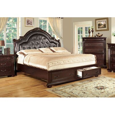 A&J Homes Studio Ellis Upholstered Platform Bed