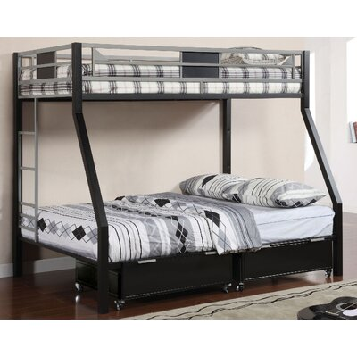 A&J Homes Studio Anise Twin Over Full Bunk Bed