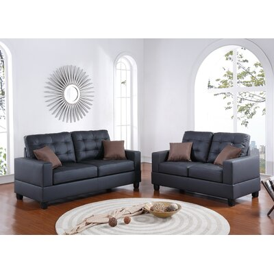 A&J Homes Studio Maria Sofa and Loveseat Set