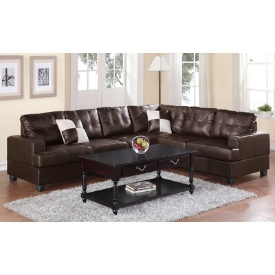 A&J Homes Studio Terry Reversible Chaise Sectional