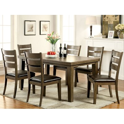 A&J Homes Studio Miami 7 Piece Dining ..