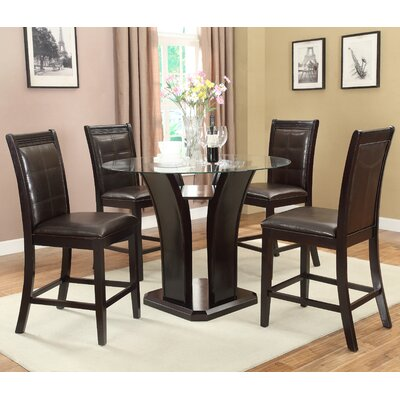 A&J Homes Studio Bella 5 Piece Dining Set