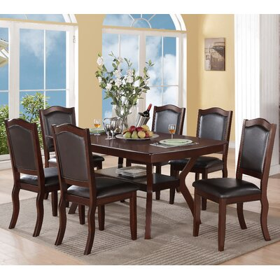A&J Homes Studio Charles 7 Piece Dining Set