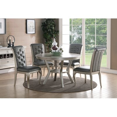 A&J Homes Studio Hampton 5 Piece Dining Set