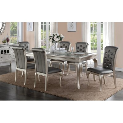 A&J Homes Studio Hampton 7 Piece Dining Set