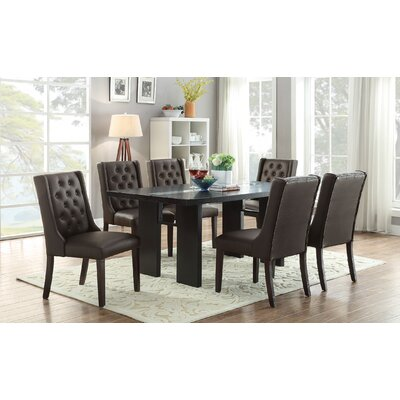 A&J Homes Studio Fenway 7 Piece Dining Set