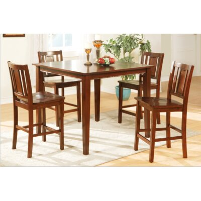 A&J Homes Studio Maddox 5 Piece Counter Height Dining Set