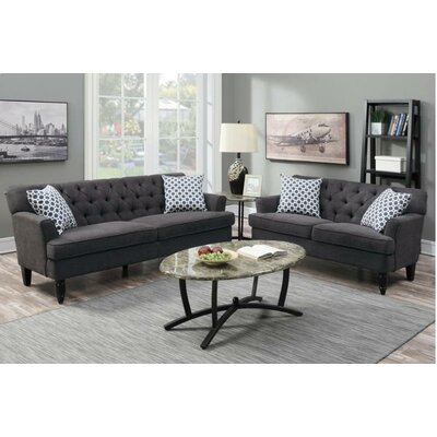 A&J Homes Studio Angel Sofa and Loveseat Set