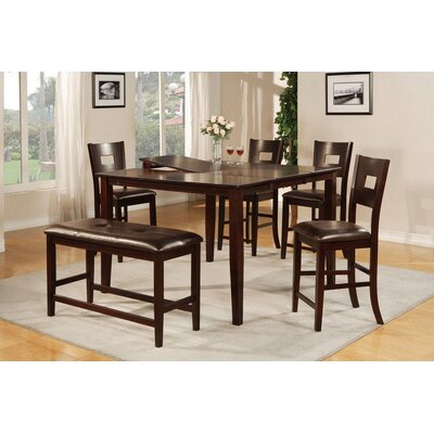 A&J Homes Studio Fiona 6 Piece Dining Set