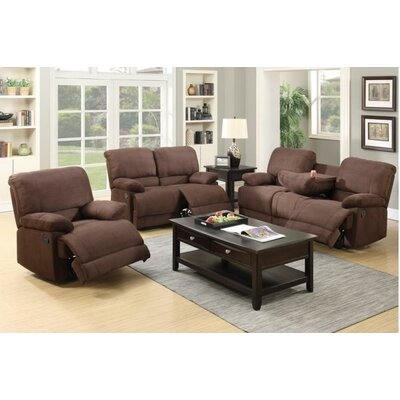 A&J Homes Studio Ben Motion 3 Piece Living Room Set