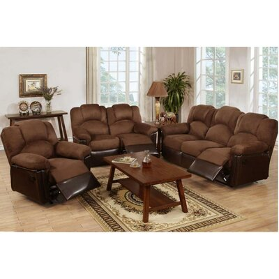 A&J Homes Studio Wilson Motion 3 Piece Living Room Set