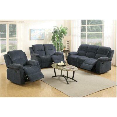 A&J Homes Studio Linda Motion 3 Piece Living Room Set