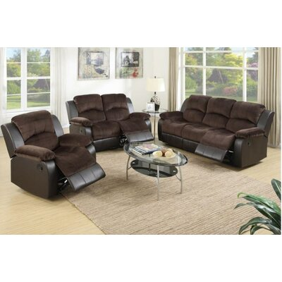 A&J Homes Studio Kate Motion 3 Piece Living Room Set