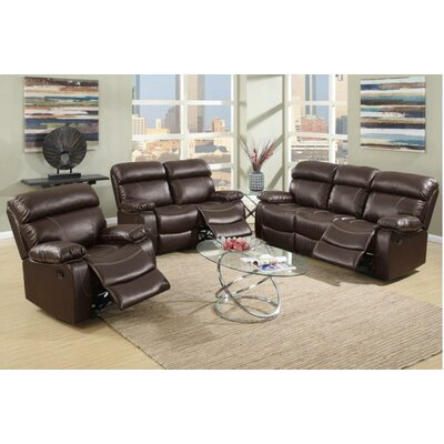 A&J Homes Studio Mildred Motion 3 Piece Living Room Set