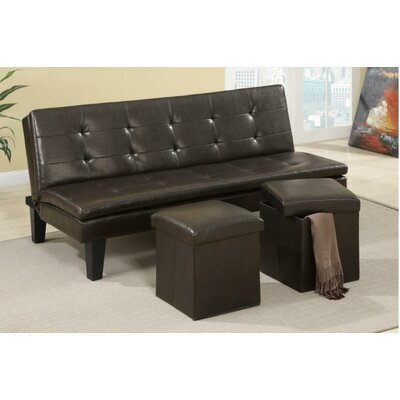 A&J Homes Studio Lucas Adjustable Sleeper Sofa