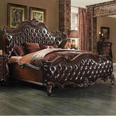 A&J Homes Studio Shine Sleigh Bed