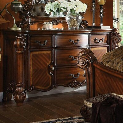 A&J Homes Studio JV 5 Drawer Combo Dresser