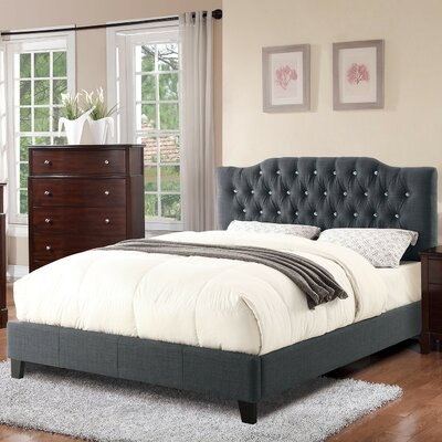 A&J Homes Studio Jermy Queen Upholstered Platform Bed