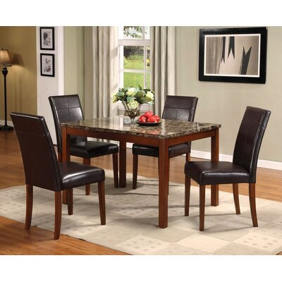 A&J Homes Studio Knight 5 Piece Dining Set