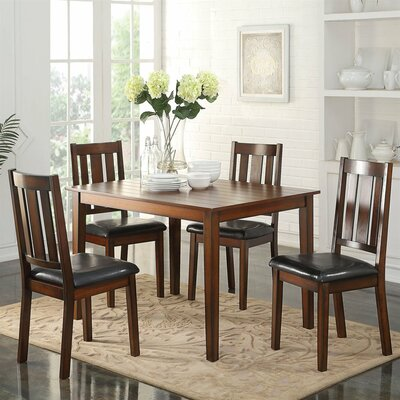 A&J Homes Studio Andy 5 Piece Dining Set