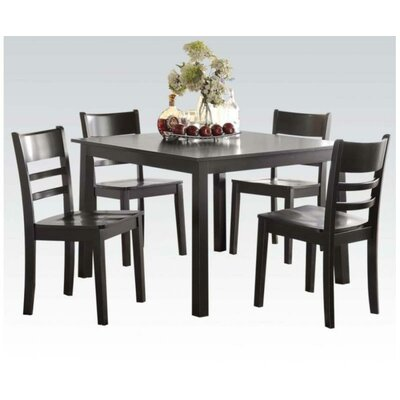 A&J Homes Studio Sophia 5 Piece Dining Set