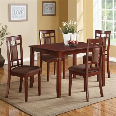 A&J Homes Studio LEE 5-Piece Dining Set