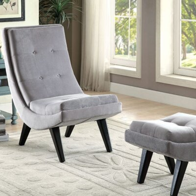 A&J Homes Studio Arleen Lounge Chair with Ottoman