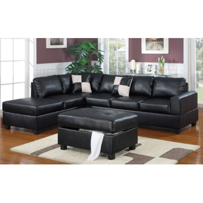 A&J Homes Studio Lia Reversible Chaise Sectional