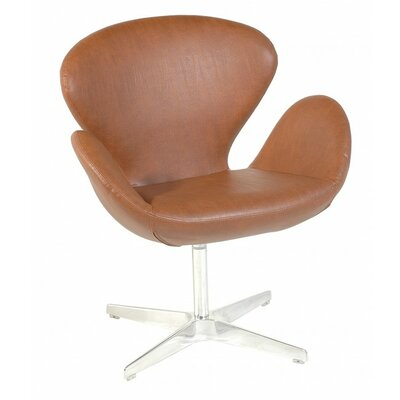 Oak Idea Imports Flower Balloon Chair