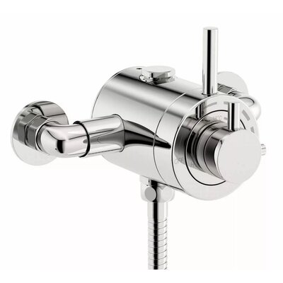 DeéGB Green Bank Twin Exposed Thermostatic Shower Valve