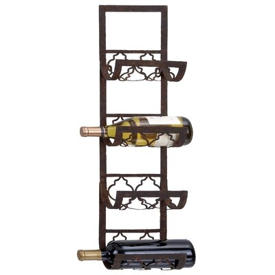 ABC Home Collection 4 Bottle Wall Mounted Wine R..