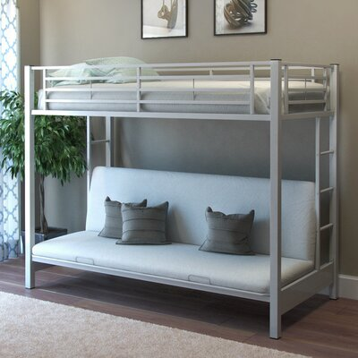Gibson Living Zelen Twin Futon Bunk Bed