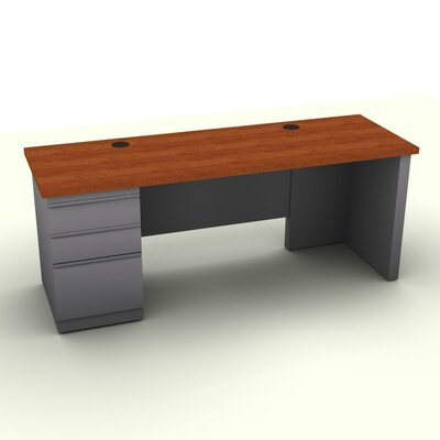 SNAP!office Executive Desk with Left F..