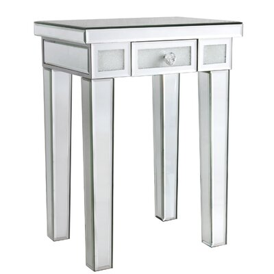 Avalon Lane Diamond Crush End Table