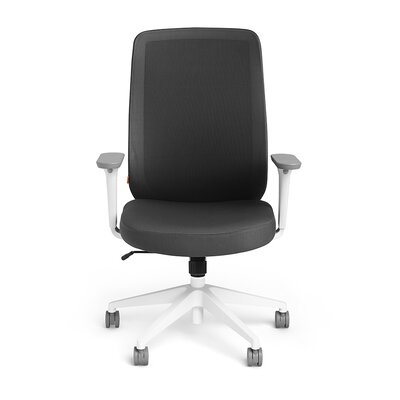 Poppin High Back Mesh Task Chair with Arms