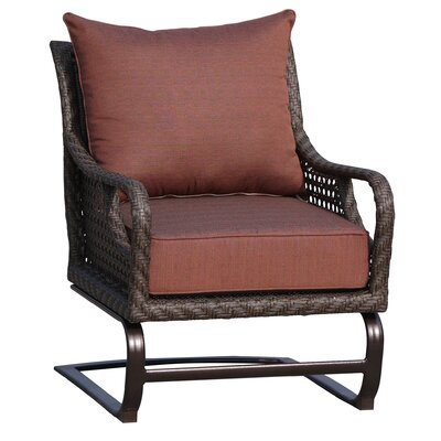 World Wide Wicker Largo Spring Club Chair