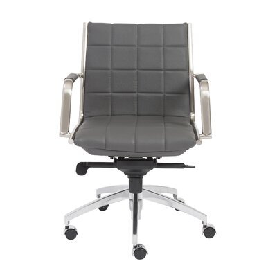 Eurostyle Zander Low Back Leather Office Chair