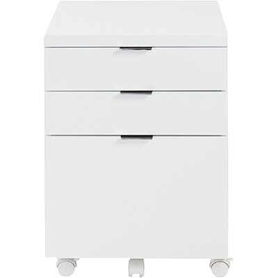Eurostyle Gilow 3 Drawer Mobile Backert Filing Cabinet