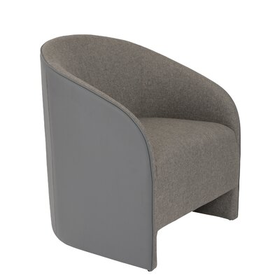 Wade Logan Conor Leatherette Lounge Chair