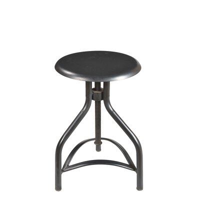 Taran Designs Josh Adjustable Height Swivel Bar Stool