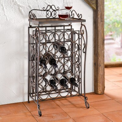 Pier Surplus 24 Bottles Floor Wine Rack