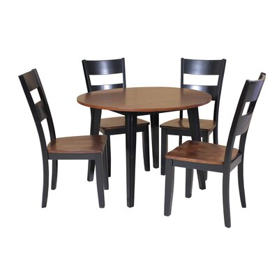 TTP Furnish Caroline 5 Piece Dining Set