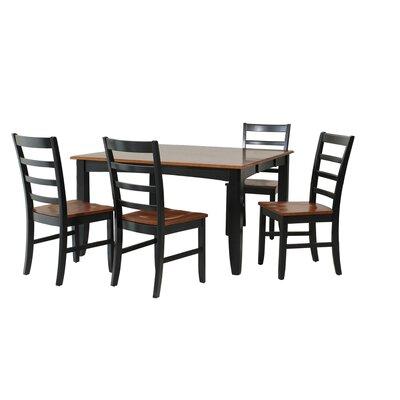 TTP Furnish Wabasca 5 Piece Dining Set