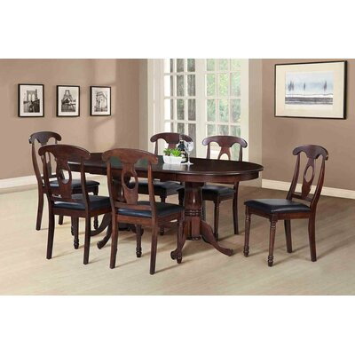 TTP Furnish Princeton 7 Piece Dining Set