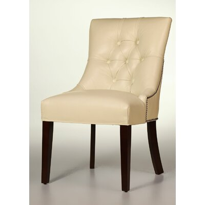 Sloane Whitney Ford Leather Side Chair
