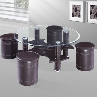Best Quality Furniture Coffee Table with Nested Stools