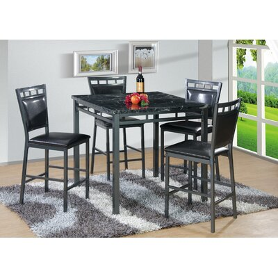 Best Quality Furniture 5 Piece Counter Height D..