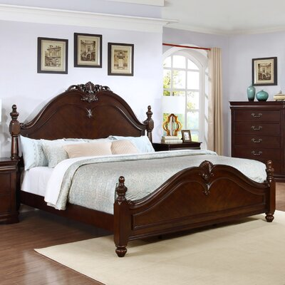 Best Quality Furniture Traditional Panel Bed