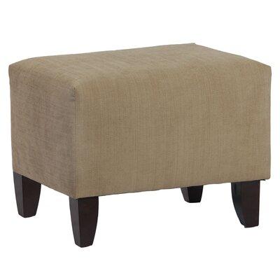 Leffler Home Zoe Upholstered Cube Ottoman