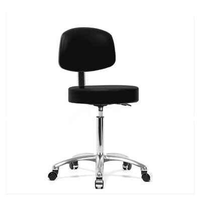 Perch Chairs & Stools Height Adjustable Exam Stool with Foot Ring